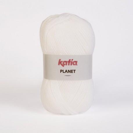 Lanas Katia Planet Blanco 3950