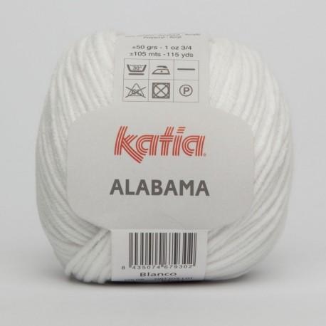 Lanas Katia Alabama blanco 1