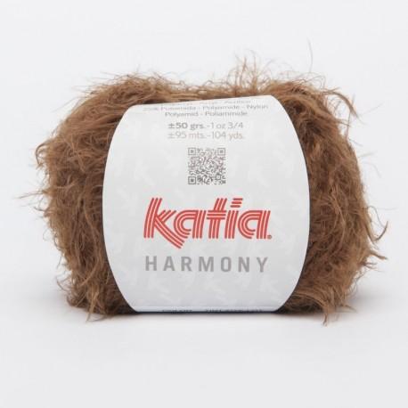 Lanas Katia Harmony marron oscuro 64