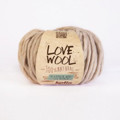 Katia Love Wool beige claro 101