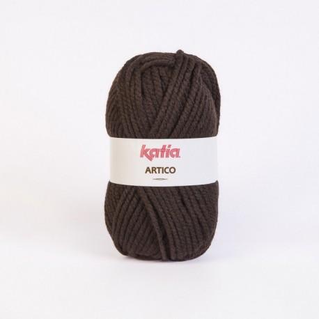 Lanas Katia Artico marrón oscuro 9
