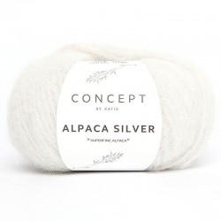 Lanas Katia Alpaca Silver Crudo-Plata 250
