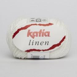 Lanas Katia Linen Blanco 1