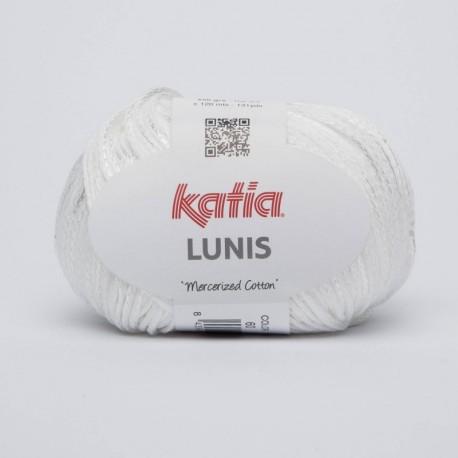 Lanas Katia Lunis Blanco 60