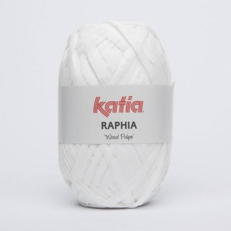 Katia Raphia Wood Pulpe Blanco 80