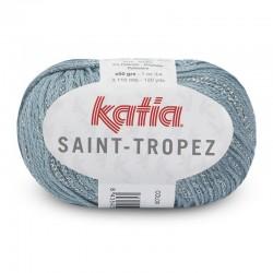 Lanas Katia Saint Tropez Azul agua-Plata 92