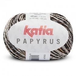 Lanas Katia Papyrus Negro-Crudo 56