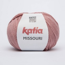 Lanas Katia Missouri Rosa 16