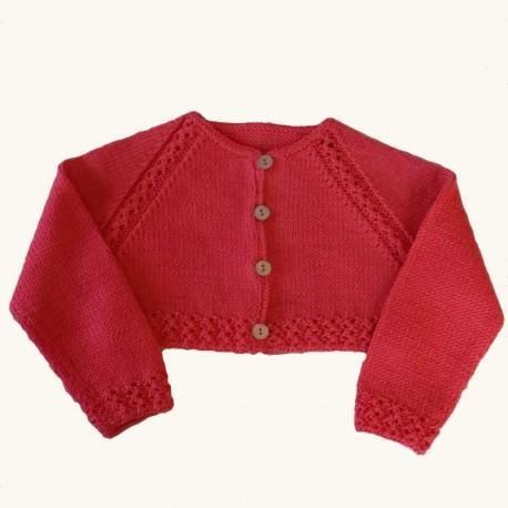 Katia Mónaco Baby - Chaqueta roja