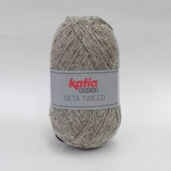 Katia Seta Tweed Socks 60