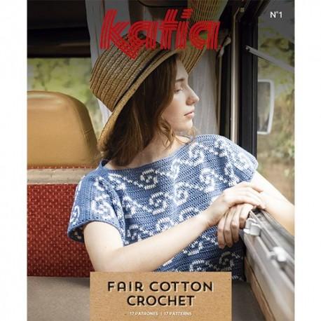 Revista Katia Fair Cotton Crochet