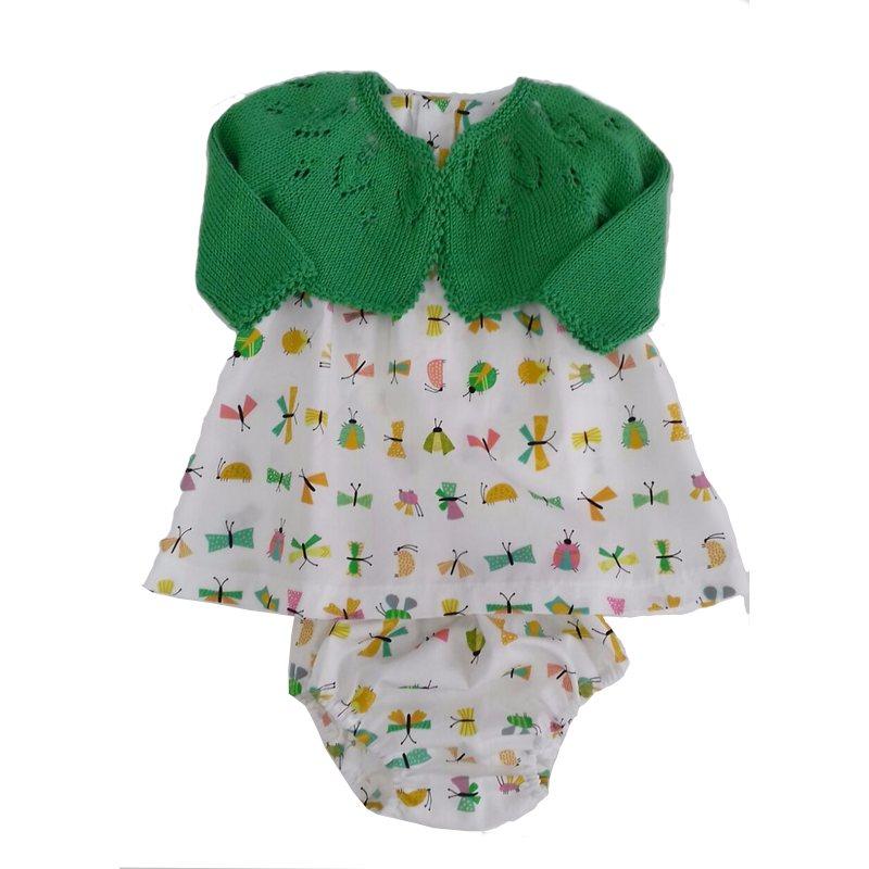 Vestido Katia Popelín y Mónaco Baby